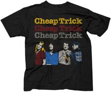 Cheap Trick Concert Tour T-shirt - Cheap Trick World Tour 1978 | Men's Black Vin
