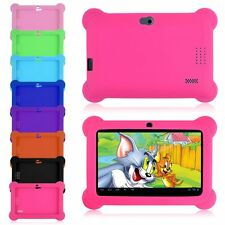 """Soft Silicone Gel Case Cover For 7"""" Android Q88 A23 A13 Tablet Kids Boys Girls"""