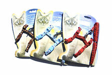 Cat Kitten Adjustable Harness And Lead / Leash Safety Harness + Toy Mice