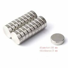 10x3mm Round Rare Earth Neodymium NdFeB Magnets N42 Grade super Strong magnet