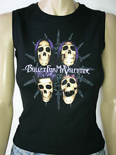 BULLET FOR MY VALENTINE UK Tour 2006 Official Womens Top/Vest/Sleeveless T-Shirt