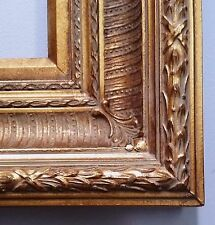 "16"" x 20"" Gold Ornate Wood Picture Frame 5 1/2"" Wide ""American Style"""