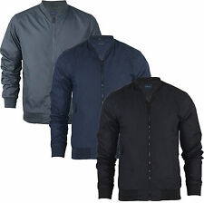 Mens Bomber Jacket Harrington  MA1 Summer Lightweight Coat Jacket Sizes S M L XL