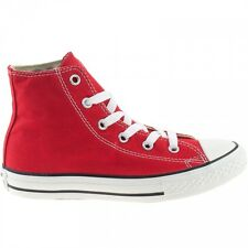 Converse All Star Chuck Taylor Red Hi Top Kids Size New In Box 3J232