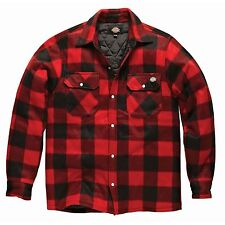 Dickies Mens Padded Long Sleeve Portland Lumberjack Work Shirt
