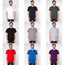 American Apparel Unisex Plain Short Sleeve Cotton T-Shirt