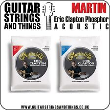 Martin ERIC CLAPTON Phosphor Bronze Acoustic Guitar Strings - ALL GAUGES