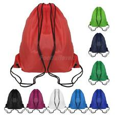 Gym Sack Bag Backpack Drawstring Closure Tote Promotion Back Pack Party Bag