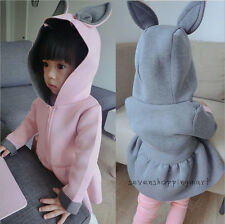 New Baby Girls Outerwear Windbreak Jacket Wind Coat Spring Autumn Hooded Clothes