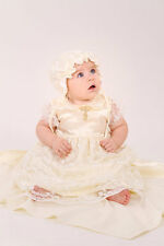 Christening Baby Girl Set Newborn Baby Dress Baptism Infant Outfit Girl Clothes