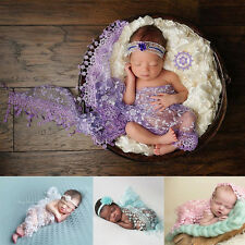 Infant Tassels Lace Baby Wrap Newborn Photo Prop Rose Textured Cheesecloth Wrap