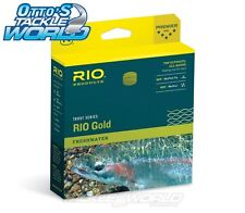 RIO Gold Freshwater Fly Line in Moss Gold colour BRAND NEW @ Otto's Tackle World