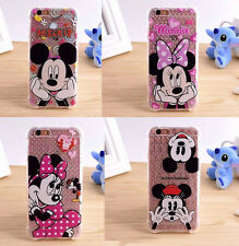 Cute Minnie Mickey Mouse Anti shock case cover Pouch for Apple iPhone 6 6S Plus