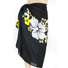 Women Sexy Swimsuit Coverup Sarong Pareo Beach Cover Up Scarf Swimwear Dress EV