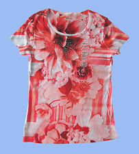 Style&CO*Knit Top T-Shirt Short Sleeve Polyester Floral *Sz.XS,S