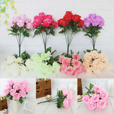 Vogue Delicate12 Heads Flowers Home Party Wedding Decoration Beautiful Bouquet