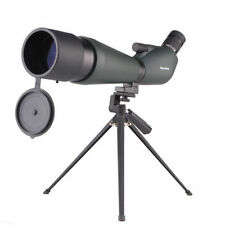 Waterproof Angled 20-60x80 Zoom Spotting Scope W/Tripod/Bag Nitrogen Filled New