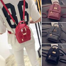 Women's Convertible Small Mini Backpack Faux Leather Rucksack Cute bag Purse New