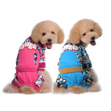 Warm Cat Dog Sweater Clothes Winter Puppy Coat Apparel Pet cute printing Hoodie