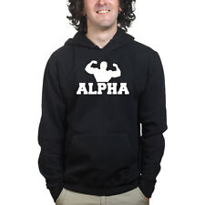 Alpha Male Sports Fitness Gym Training Exercise Bodybuilding Sweatshirt Hoodie