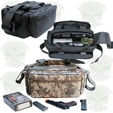 "NEW Range bags 20"" Tactical ® Guns Pistol Gear shoot hunt Nylon Duffle"