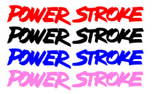 SET Powerstroke ford vinyl GRAPHIC decal 5-7 years+ CHOOSE COLOR