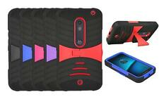 For Motorola Droid Maxx 2 Case, Hard Armor Cover Case with Kickstand