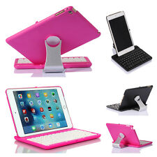 New Wireless Bluetooth Keyboard Swivel Rotary Stand Cover Case For iPad Mini 4