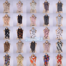 2016 New Chiffon Womens Scarf Neck Shawl Scarf Scarves Wrap Stole Warmheart Gift