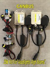 HIGH BEAMS 9005 HB3 35W CANBUS M8 NO ERROR SLIM XENON HID KIT 07-08 FOR I-370