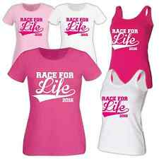 Race For Life Personalised T Shirt Print Vest Tee Shirt Printed Message Swish