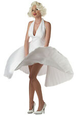 Brand New Sexy Marilyn Monroe Deluxe Movie Star Official Adult Halloween Costume