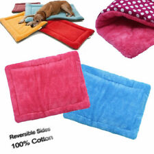 100% Cotton 72x89cm Large Cozy Warm Reversible Sides Soft Pet Bed and Mat