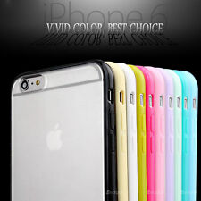 "iPhone 6 4.7""  Transparent Hard & Soft Gel Cover Case Skin For Apple Mobile"