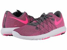NIKE FLEX FURY 2 PINK BLAST WHITE 2016 WOMENS RUN SHOES **FREE POST AUSTRALIA