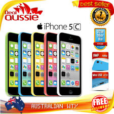 APPLE iPHONE 5C 16GB OFFICIAL UNLOCKED MOBILE PHONE 12MTH OZ WTY NEW SEALED BOX