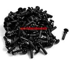 Black Nylon Push Rivets Fasteners for 2.0-3.0mm Thick Panel R3045