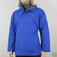 New Mens Columbia Glacial Pass 3in1 Interchange Winter Jacket Coat Parka NWT.