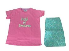 Pyjamas Ladies Flannel 2 pc Pjs Set (Sz 18-24) Pink Green Floral PLUS Sz 18 20 2