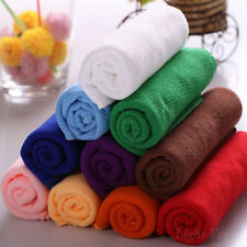Gift Fiber Soft Absorbent Drying Face Hands Towel 30x70cm Washcloth Bath fMJ47