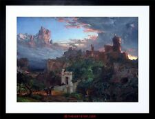 PAINTING ALLEGORY CROPSEY SPIRIT WAR FRAMED PICTURE ART PRINT F97X8367