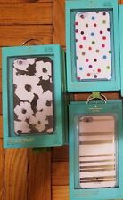 NEW Kate Spade New York Flexible Hardshell iPhone 6/6s Plus - Authentic 3 Styles