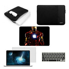 Hard case Sleeve bag Screen protector Keyboard cover For Macbook Air Pro Retina