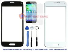 "Front Screen Glass Replacement part for Samsung Galaxy s5 SV MINI 4.5"" Display"