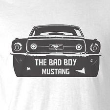 New Car T-shirt The Bad Boy Mustang fastback monaro ford parts accessories