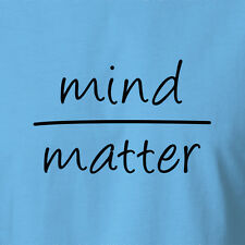 Spiritual T-shirt Mind Over Matter Fashion Tee Clothing Peace Love Festival