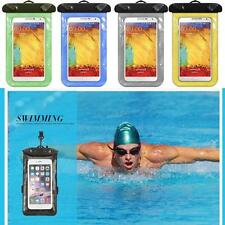 Underwater Waterproof Case Cover Pouch Dry Bag For Cell Phone Mobile Touchscreen