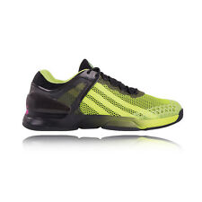 Adidas Adizero Ubersonic Mens Green Black Tennis Sports Shoes Trainers Pumps