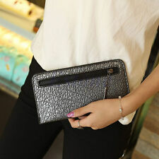 Women Handbag Envelope Clutch Leather Chain Purse Tote Messenger Evening Bag New