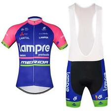 Lampre MERIDA Cycling Jersey and Bib Shorts Set 2016 new